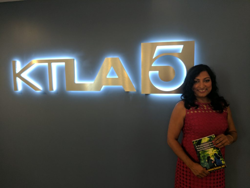 Dr. Gayani DeSilva on KTLA for her book.