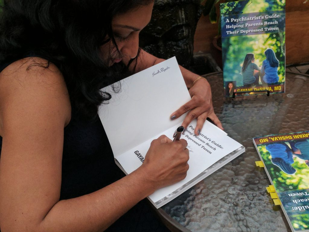 Dr. Gayani DeSilva at Mystic Journey Bookstore