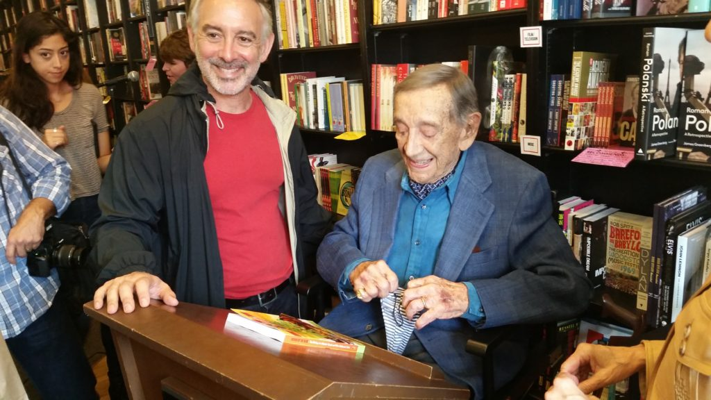 "Movie Producer, Jack H. Harris, signing ""Father of the Blob"" - Book Soup, Sunset Blvd."
