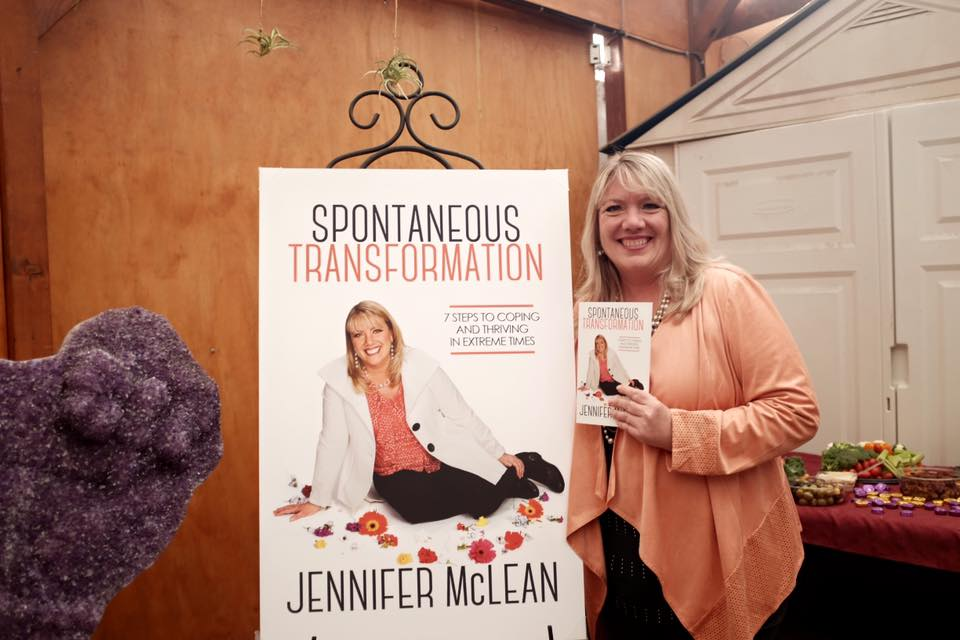 "Mystic Journey Bookstore featuring Author, Jennifer McLean, ""Spontaneous Transformation"""