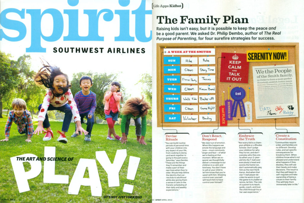 """The Real Purpose of Parenting"" featured in Spirit  Southwest Magazine"
