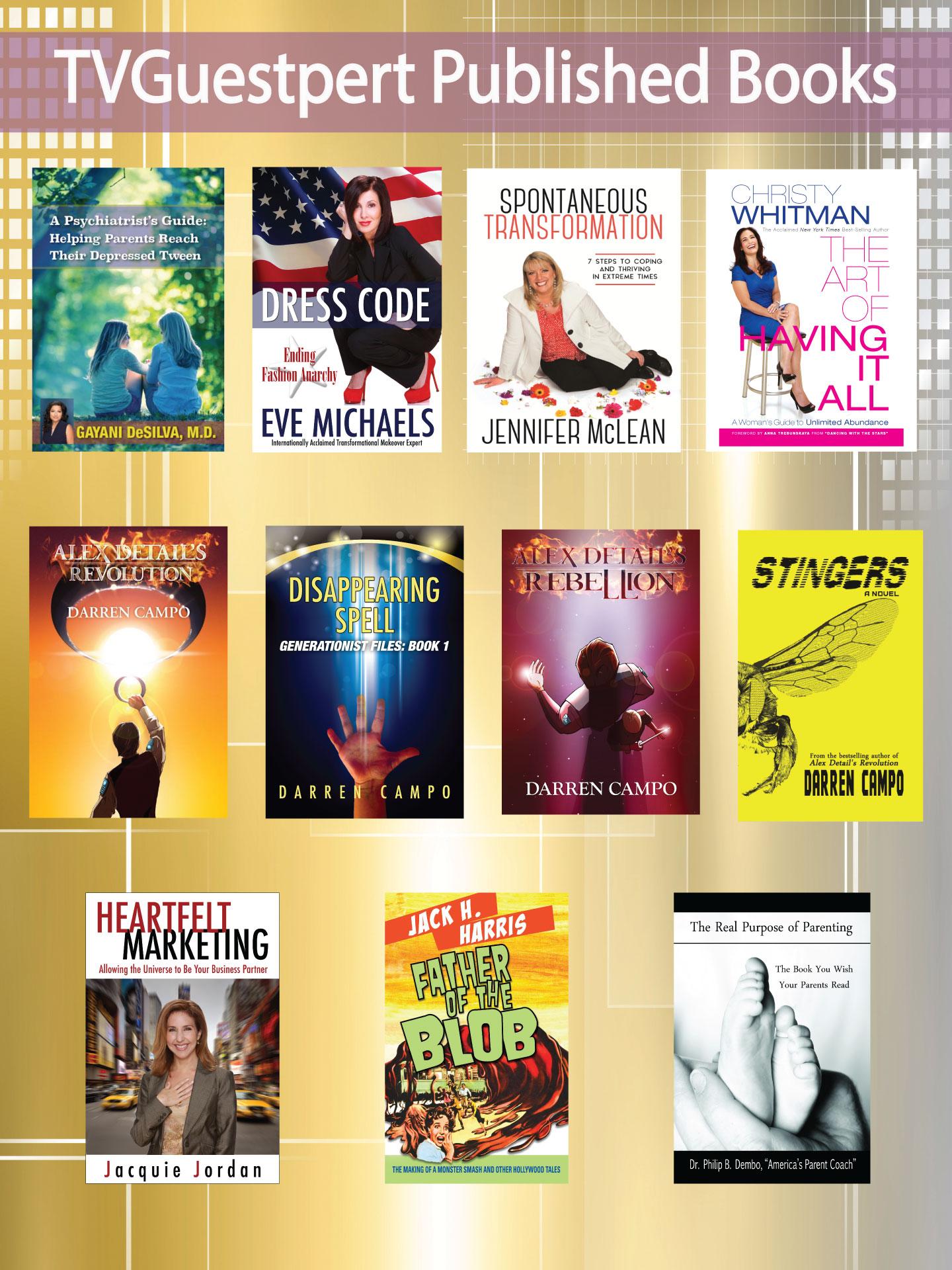 TVG Published Books