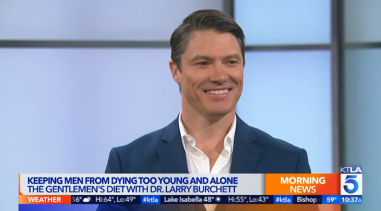 Dr. Larry Burchett. KTLA